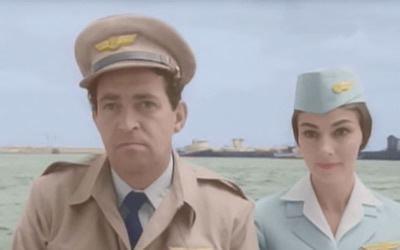 SOS Pacific SOS Pacific 1959 starring Richard Attenborough Pier Angeli John