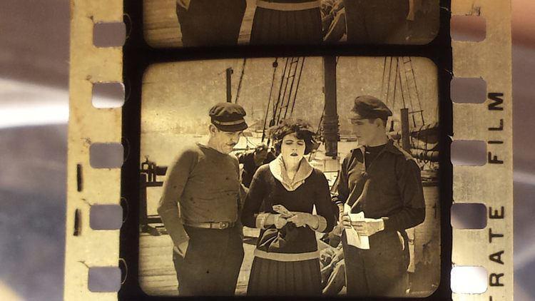 S.O.S. Perils of the Sea Identified SOS PERILS OF THE SEA 1925 Nitrate Film Interest