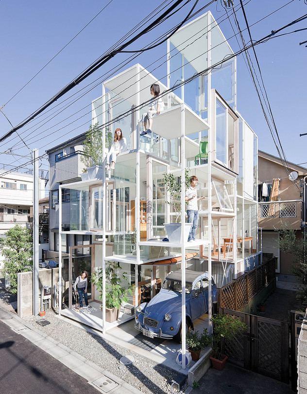 Sou Fujimoto Architect Sou Fujimoto39s Futuristic Spaces WSJ