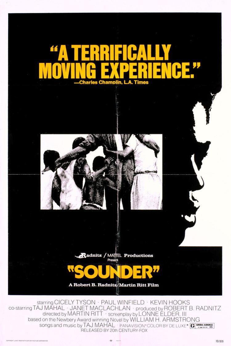 Sounder (film) wwwgstaticcomtvthumbmovieposters5471p5471p