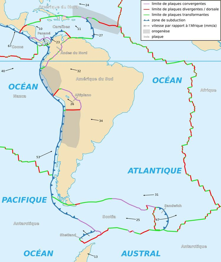 South American Plate FileSouth American Plate mapfrpng Wikimedia Commons