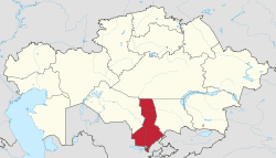 South Kazakhstan Region South Kazakhstan Region Wikipedia
