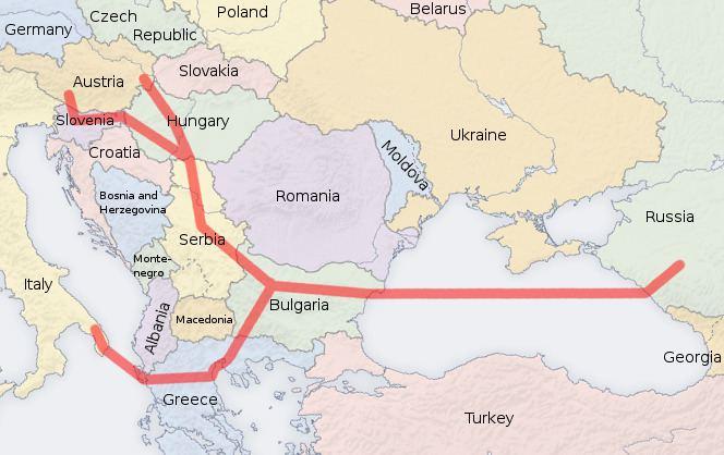 South Stream South Stream Wikipedia