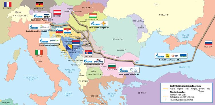 South Stream Europe39s Energy Strategy and South Stream39s Demise Carnegie Europe