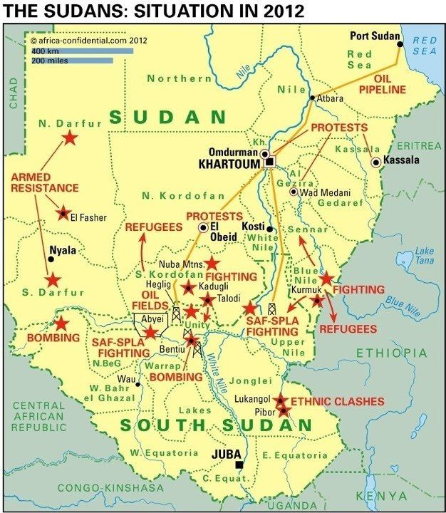 South Sudan in the past, History of South Sudan