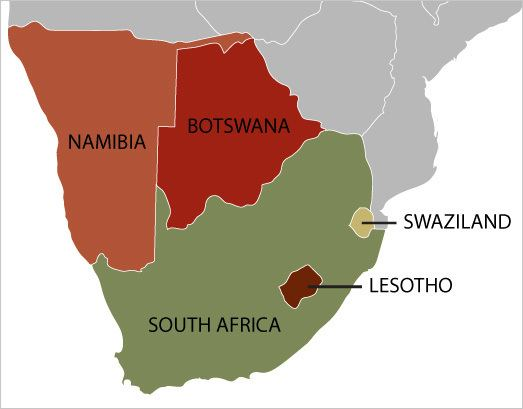 Map Of South Africa And Namibia.Southern Africa Alchetron The Free Social Encyclopedia