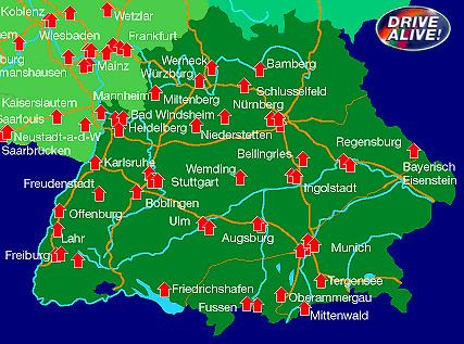 Southern Germany Southern Germany Tourist Information Where to go in Bavaria