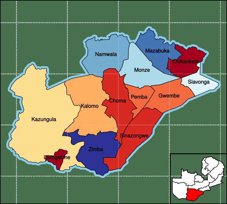 Southern Province Zambia Wikipedia