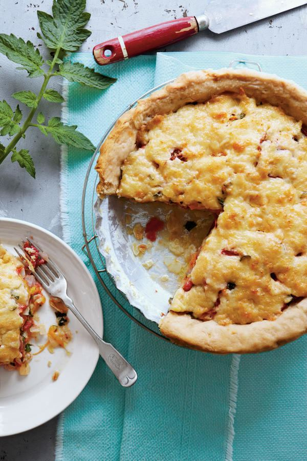 Southern tomato pie Oldfashioned Tomato Pie Savory Tomato Pie Recipes Southern Living