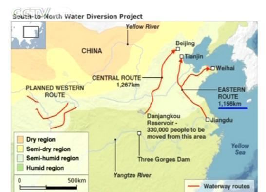 South–North Water Transfer Project Chinas SouthNorth Water Diversion Project CCTV News CNTV English