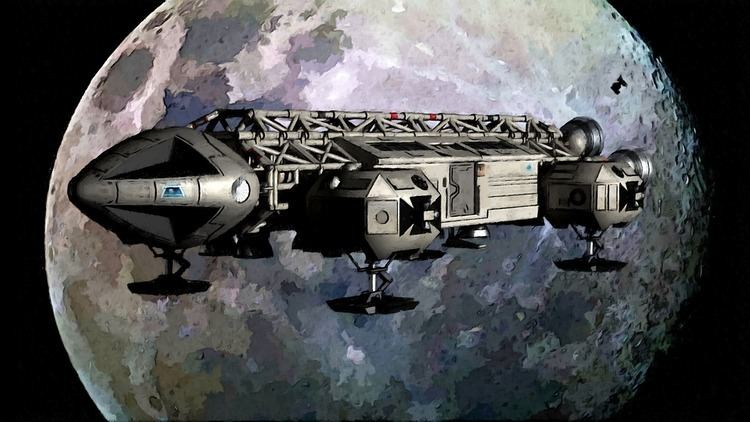 Space: 1999 space 1999 painted eagle