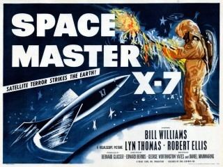 Space Master X-7 Space Master X7 1958 Vintage45s Blog