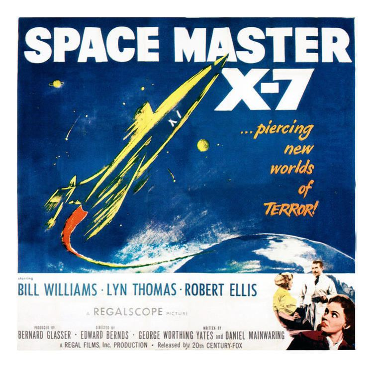 Space Master X-7 Space Master X7 Poster Art 1958 Photograph by Everett