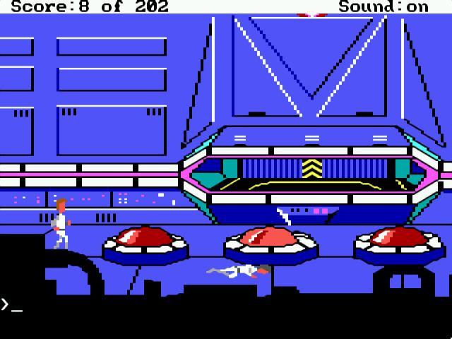 Space Quest I ScummVM Screenshots