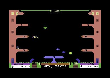 Space Taxi Download Space Taxi Commodore 64 My Abandonware
