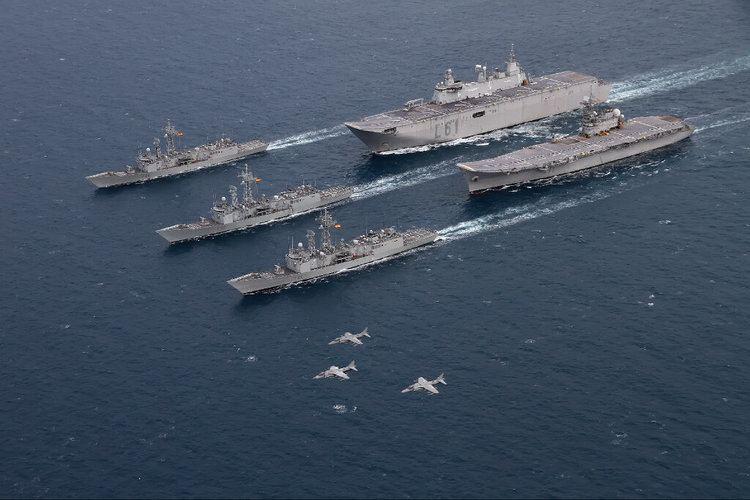 Spanish aircraft carrier Príncipe de Asturias - Alchetron ...Spanish Aircraft Carrier Principe De Asturias
