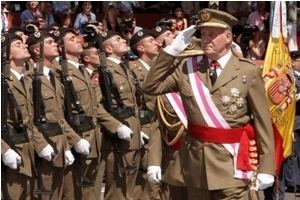Spanish Armed Forces Latin American Herald Tribune King Urges Spanish Military to Go