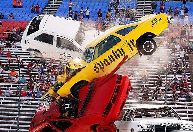 Spanky Spangler Famed stunt driver Spanky Spangler Jr SI Photo Blog