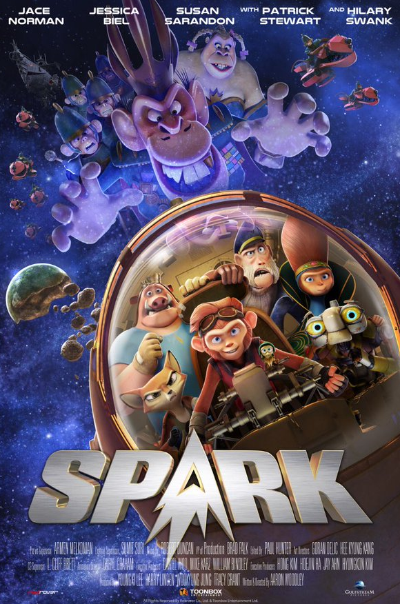 Spark (2016 film) Jace Norman Shares the First Look at the Spark Movie Poster M