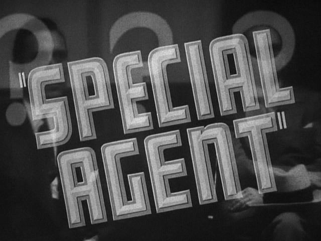 Special Agent (1935 film) Lauras Miscellaneous Musings Tonights Movie Special Agent 1935