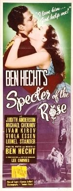 Specter of the Rose movie poster