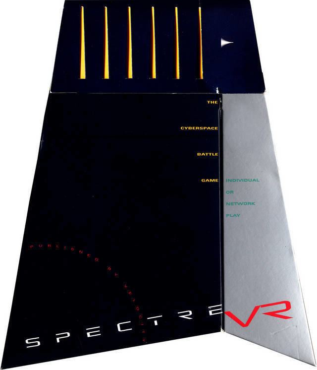 Spectre (video game) Spectre VR Box Shot for Macintosh GameFAQs