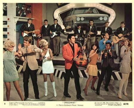 Speedway (1968 film) Cotton Owens Garage Elvis Speedway Movie The King of the