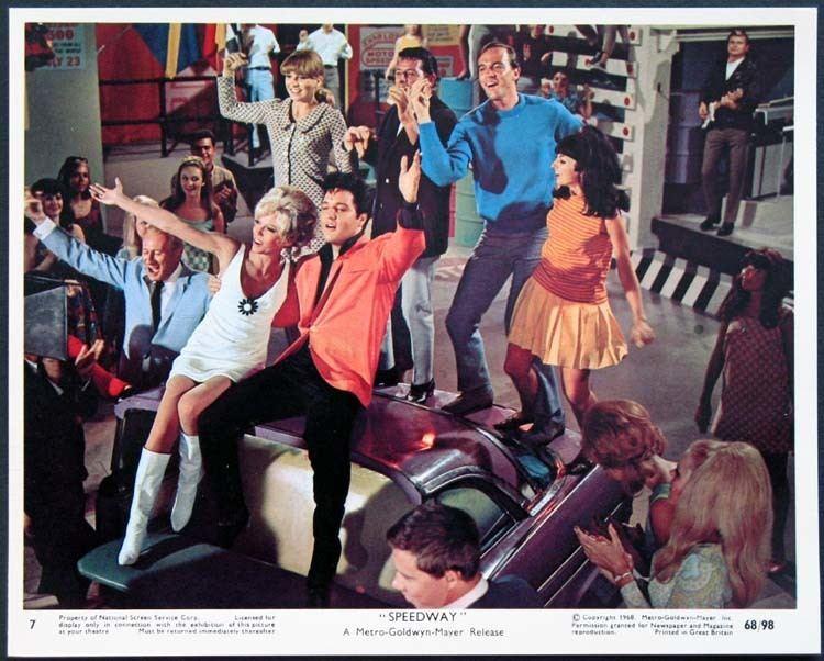 Speedway (1968 film) SPEEDWAY Movie Poster 1968 Movie Posters Lobby Cards Vintage
