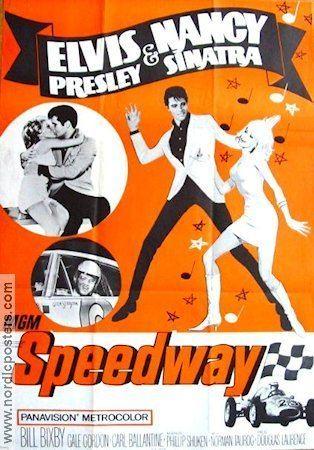 Speedway (1968 film) elvis presley speedway 1968 1960s Film Postres Pinterest