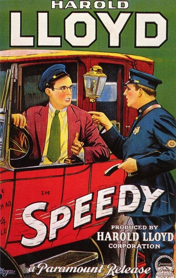 Speedy (film) Speedy 1928 with Harold Lloyd Hidden Films