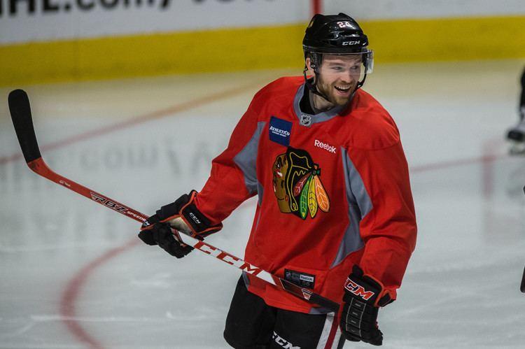 Spencer Abbott (ice hockey) Whos on first line Spencer Abbott completes long journey to