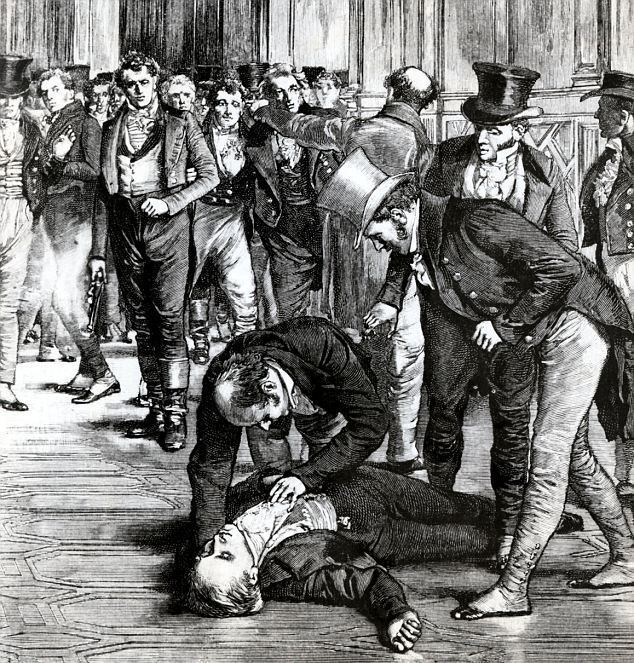 Spencer Perceval Blood in the House of Commons Two hundred years on the