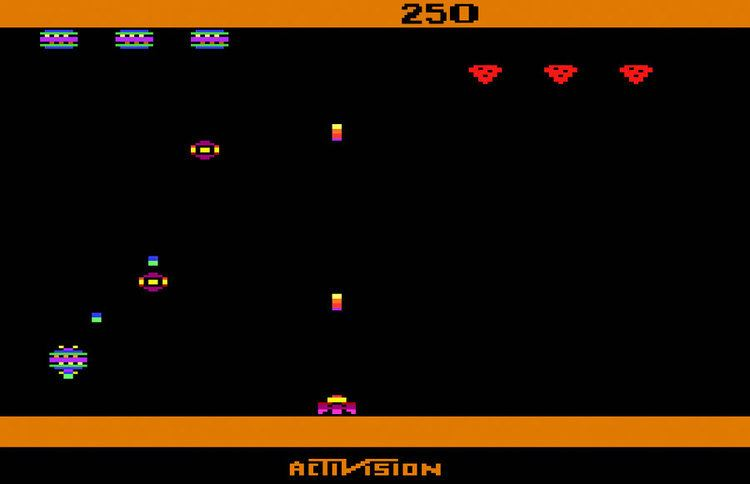 Spider Fighter Game review Activision Spider Fighter for Atari 2600