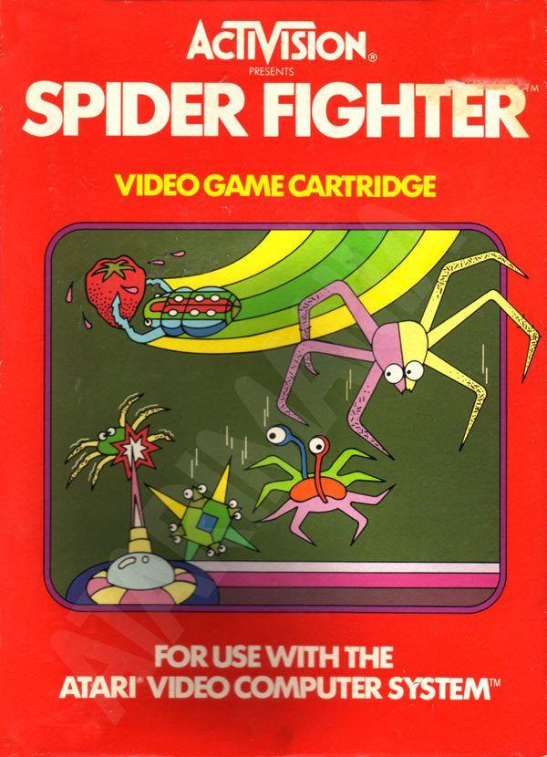Spider Fighter Atari 2600 VCS Spider Fighter scans dump download screenshots