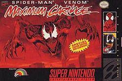 Spider-Man and Venom: Maximum Carnage httpsuploadwikimediaorgwikipediaenthumbe