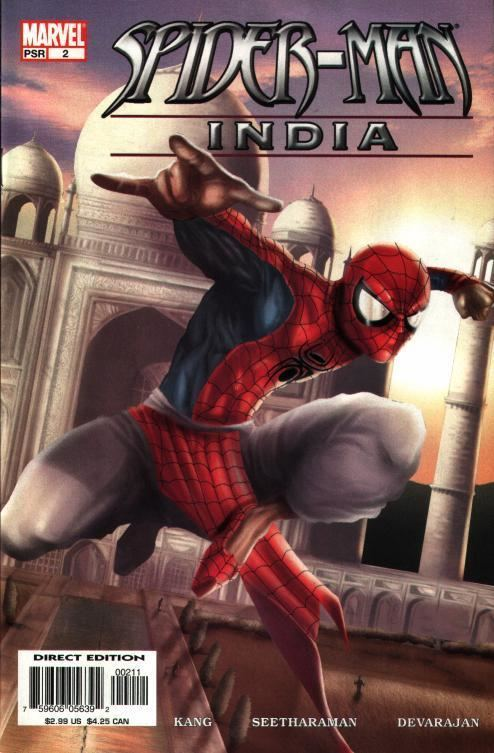 Spider-Man: India SpiderFanorg Comics SpiderMan India