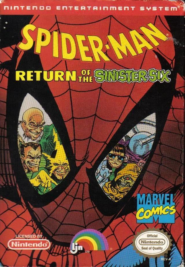 Spider-Man: Return of the Sinister Six httpsgamefaqsakamaizednetbox24322243fro