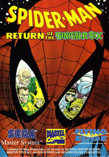 Spider-Man: Return of the Sinister Six Play SpiderMan Return of the Sinister Six Sega Master System