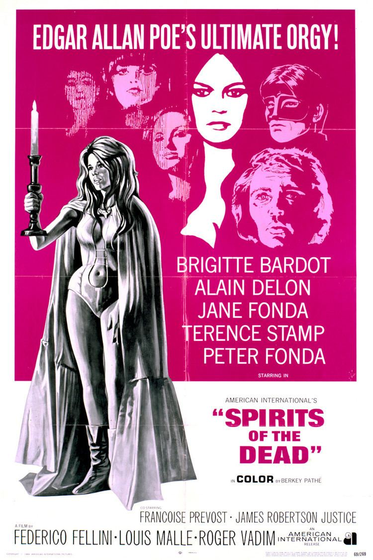 Spirits of the Dead wwwgstaticcomtvthumbmovieposters4663p4663p
