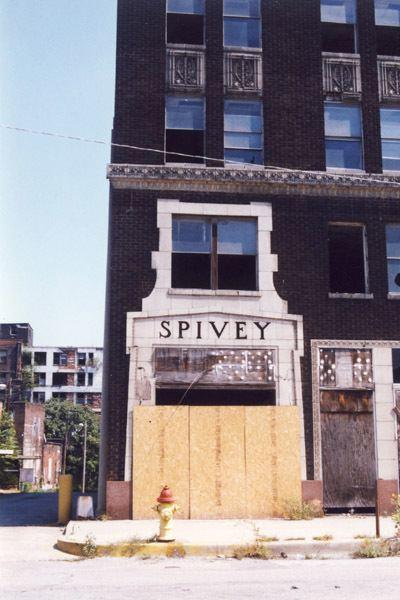 Spivey Building Built St Louis Metro East East St Louis