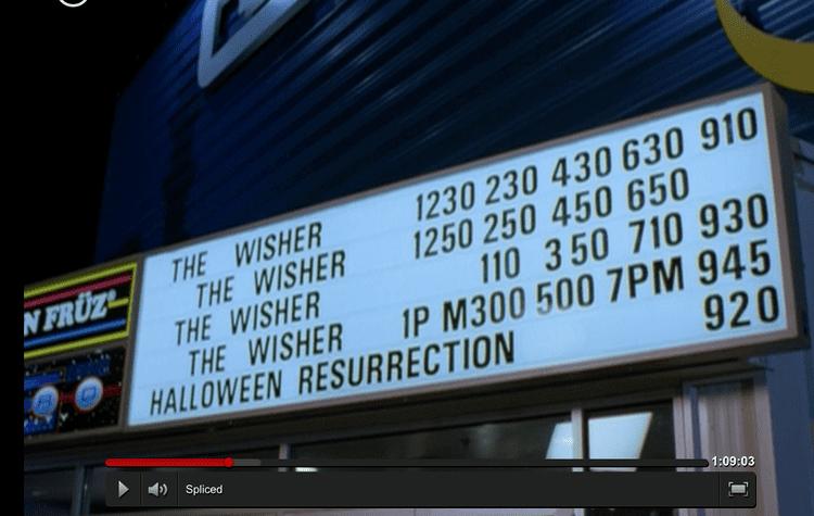 Spliced (film) Horror Movie A Day Spliced 2002