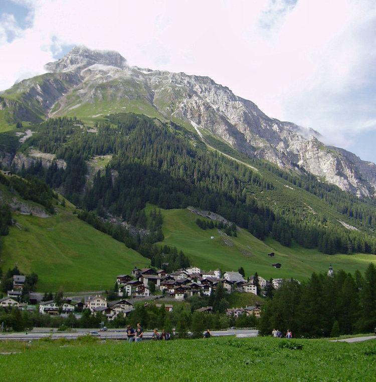 Splugen Beautiful Landscapes of Splugen