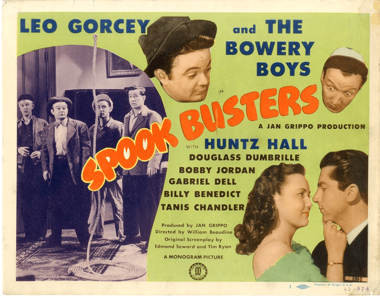 Spook Busters Spook Busters 1946 Starring The Bowery Boys aka The Dead End
