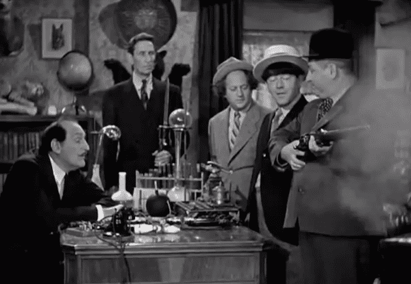 Spook Spoofing Spook Louder Three Stooges Pictures