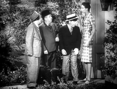 Spook Spoofing 13 THE THREE STOOGES in SPOOK LOUDER Thomas Ravenscroft Three