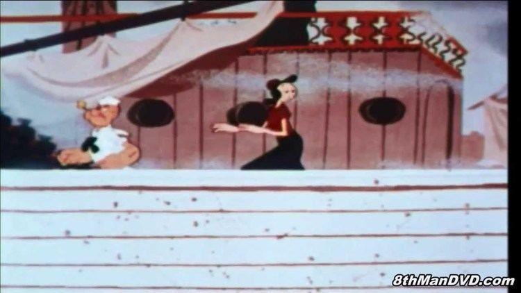 Spooky Swabs movie scenes POPEYE THE SAILOR Spooky Swabs 1957 Remastered HD 1080p