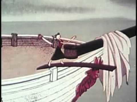 Spooky Swabs movie scenes Classic Cartoons Popeye Spooky Swabs 1957
