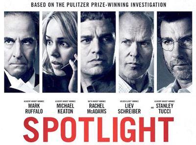 Spotlight (film) Film Review Spotlight Blog Think Theology