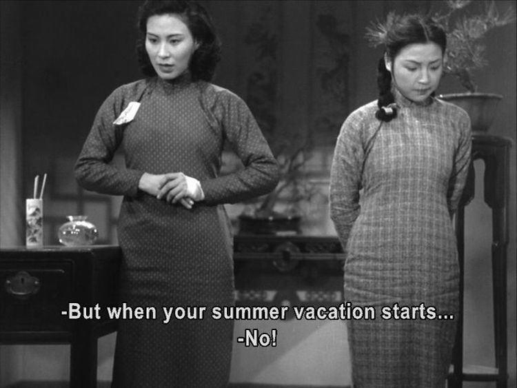 Spring in a Small Town Xiao cheng zhi chun Spring in a Small Town 1948 Mu Fei Chaoming