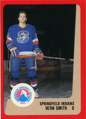 Springfield Indians Springfield Indians hockey card set gallery AHL at hockeydbcom